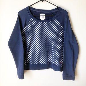 Levi's | Navy Star Crewneck Sweatshirt